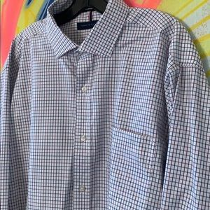 Tommy Hilfiger Fitted Button Down 17/17.5 36/37